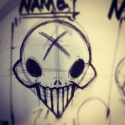 tattoo graffiti pen set another skull drawing illustration ink pen tattoo g