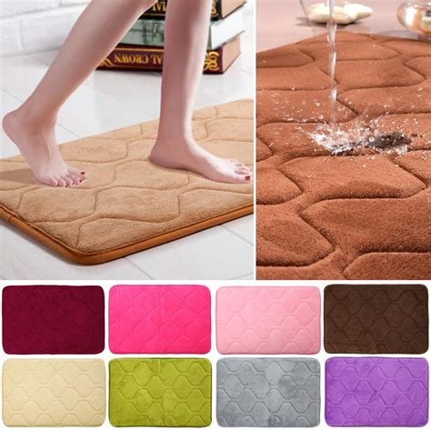 memory foam rugs for bathroom bathroom rugs set retro printing floor mats bathroom rug