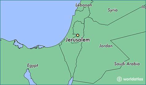 city jerusalem map where is jerusalem israel jerusalem jerusalem
