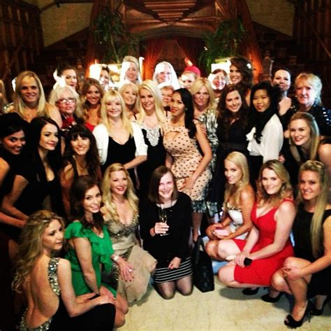 Hef Celebrates His 81st Birthday In Style At The Palms by Hugh Hefner And Celebrate His 87th With Cake
