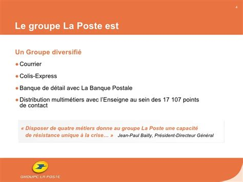 si鑒e la poste power point de pr 233 sentation du rapport annuel 2009 du