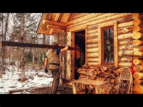log cabine building a rustic log cabin wood plank flooring and the