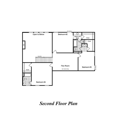 bradford floor plan homes in missouri st louis area bradford 2 story 4