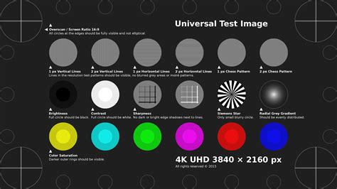 test pattern downscaling is our 4k tv not 4k hometheater