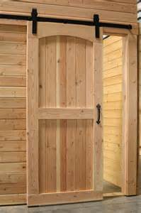 rustic barn door track arched top interior rustic barn door with sliding track