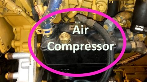 how to change your cat air compressor remove and install air compressor