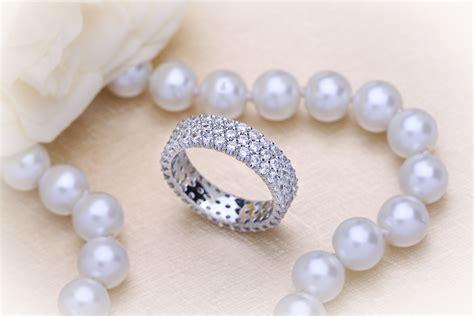 Eheringe Vintage Set by Eternity Ring Set Wedding Ring For In
