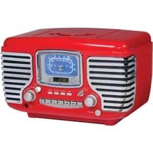 Bedroom Radio Alarm Clock Vintage Radio Cd Player Ebay