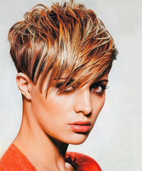 tapered pixie haircuts tapered pixie with a lot of volume up top winter pixie