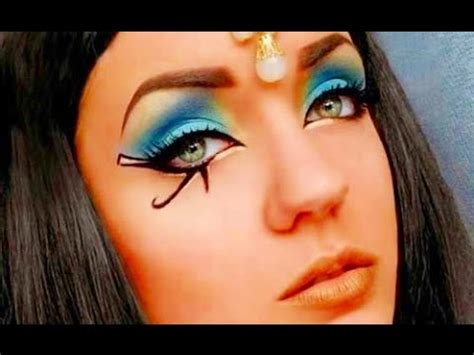 imagenes egipcio maquillaje ஐ maquillaje egipcio ஐ 161 look cleopatra youtube