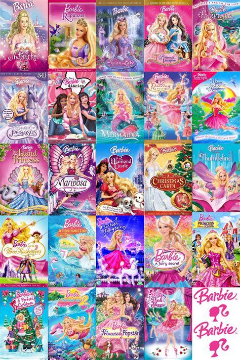 film of barbie barbie movies images all barbie movies 2001 2013