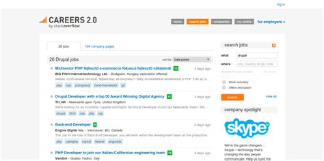 drupal theme job board 7 websites for finding drupal jobs