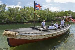 boat back to africa african queen boat from the 1951 humphrey bogart film gets