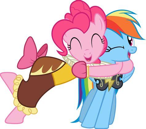 Bgc My Pinkie Pony Rainbow Dash And Friends Kantung Depan Tas R pinkiedash hugs by rainbowplasma on deviantart