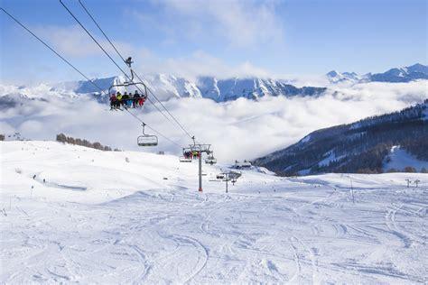 serre chevalier villeneuve domaine skiable dans les alpes hautes alpes