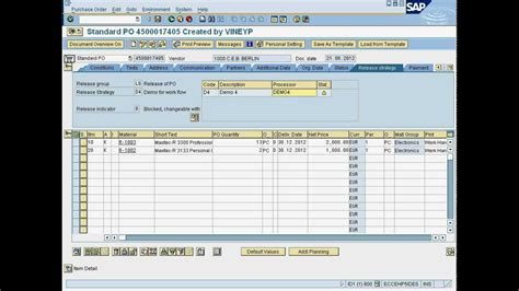 standard workflow for purchase order in sap 1 miapproval create po for release mobile workflow