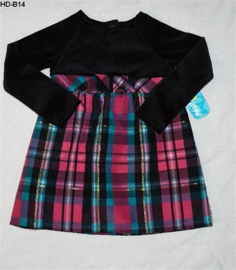 Plaid Dress Size 3t 4t new size 4t dress healthtex black plaid new 12 99 free ship fashion for