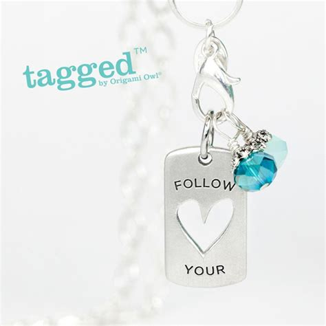 Origami Owl Tagged - follow your tagged necklace by origami owl origami