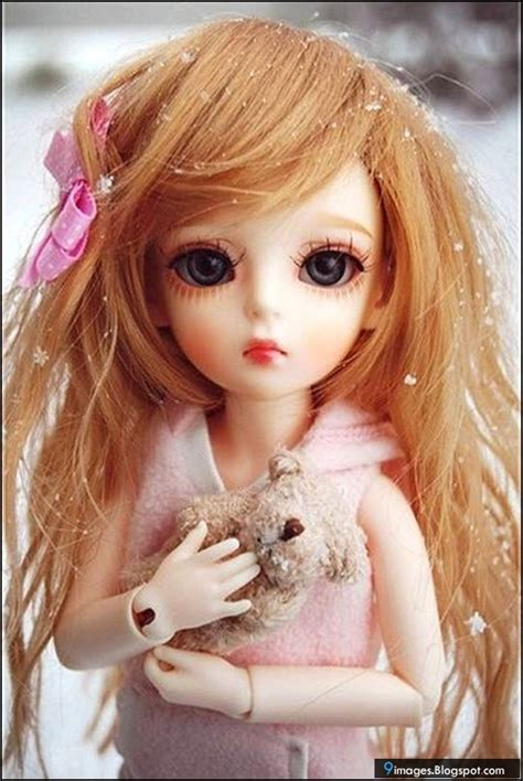 doll cute barbie little