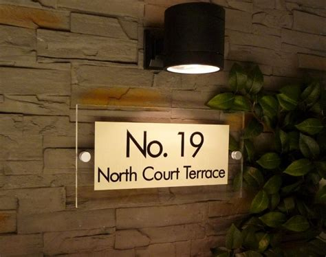 home name board design pin by de signage contemporary acrylic signage