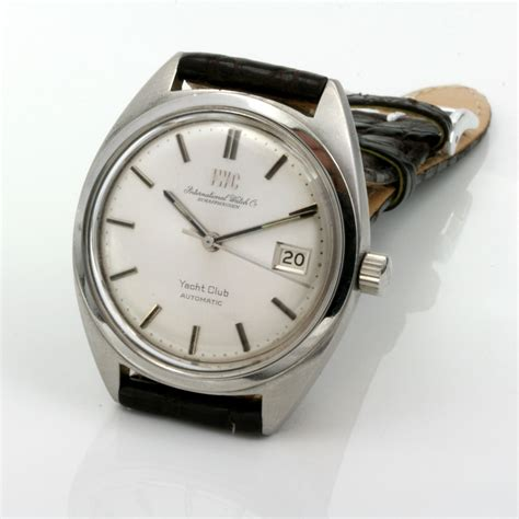 yacht watch buy automatic 1970 s iwc yacht club watch sold items sold