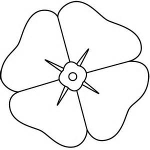 How To Draw Poppy Coloring Page 300x300jpg sketch template