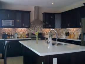 Kitchen cabinets black paint cabinet contemporary espresso painted