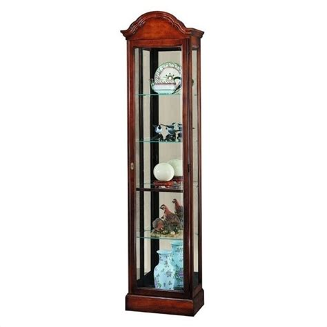 curio cabinet howard miller gilmore traditional display curio cabinet