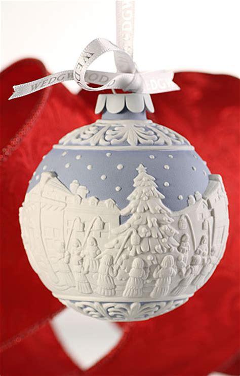wedgwood carol singers ornament