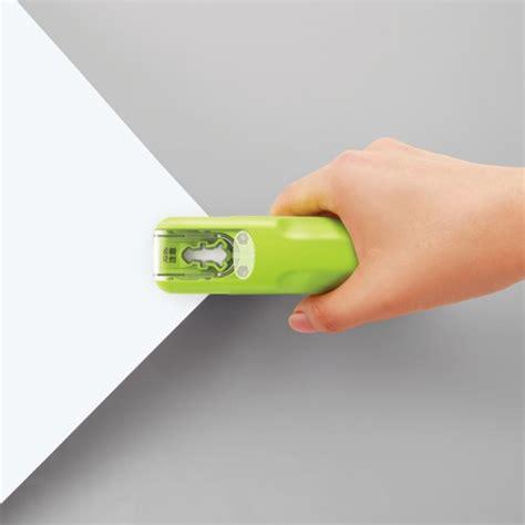 Buy 1 Get 1 Green Needle Stapler kokuyo harinacs japanese stapleless stapler green office