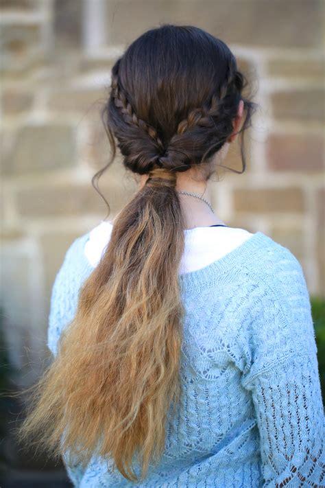 cute girl hairstyles easy braids braid flip combo hairstyle cute girls hairstyles