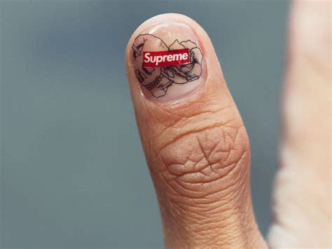 supreme tattoo this nail trend is what guys will be doing in 2018