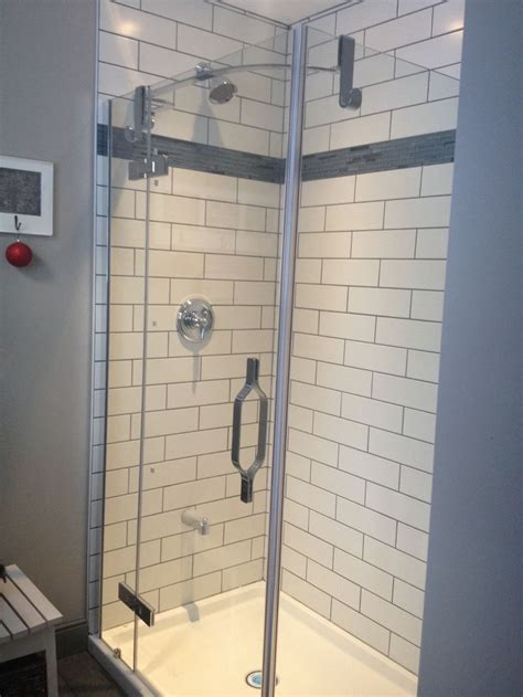 subway tiles with dark grout houzz subway tile with dark grout master bath pinterest