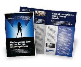 fashion brochure templates fashion show brochure template design and layout
