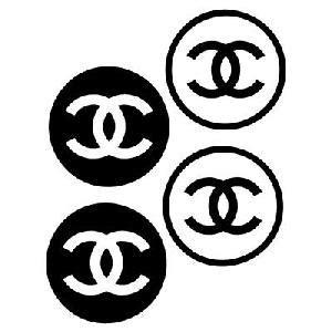 Chanel Logo Stickers