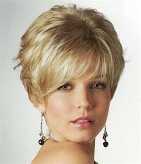 k mitchell short hairstyles with a soft bang feminine short haircuts for women short feminine