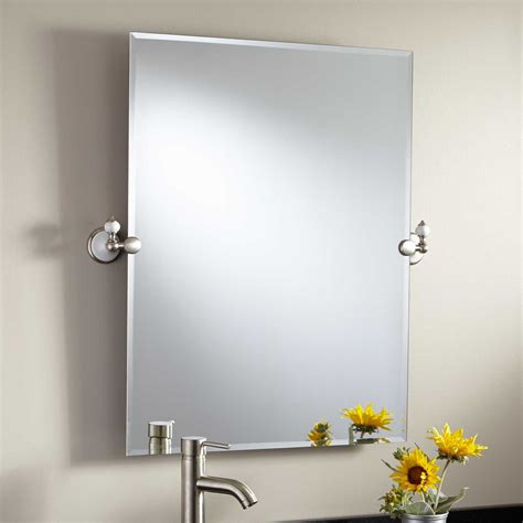 tilting bathroom mirror 32 quot adelaide rectangular tilting mirror bathroom mirrors