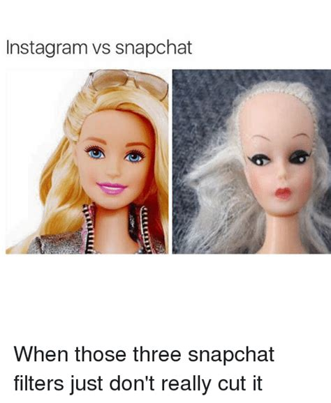 instagramvs snapchat    snapchat filters