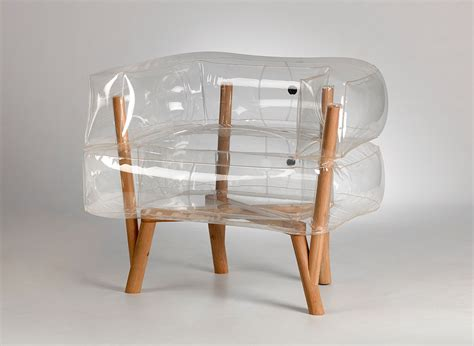 flat pack 20 creative furniture designs for cred living urbanist anda an inflatable chair by tehila guy design milk