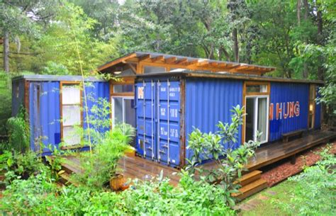 Small Homes Made From Shipping Containers Two Shipping Containers Turned Into A Small House