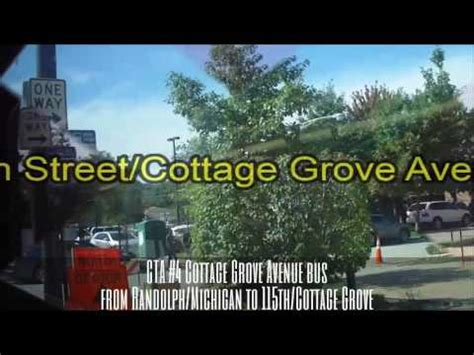 4 Cottage Grove Route by Cta 4 Cottage Grove Avenue From Randolph Michigan To