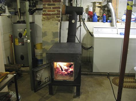 how to heat basement wood heat