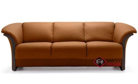 leather sofa with wood trim ship reno leather sofa in by