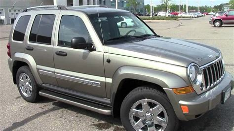 black jeep liberty 2005 2005 jeep liberty limited 3 7l 4x4 youtube