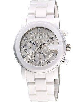 Gucci Ceramik Roundwhite T1310 3 gucci ya101353 g chrono chronograph unisex white ceramic 22 retail it