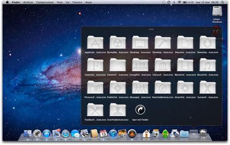 scrivania imac glass 20 icone effetto vetro per la scrivania di mac os