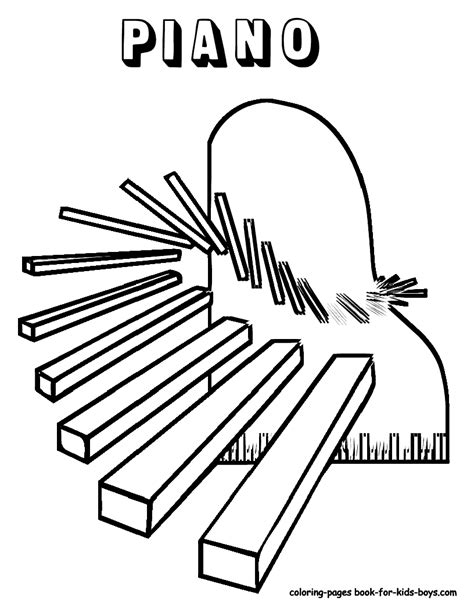 music education coloring pages mighty piano musical instrument coloring piano free
