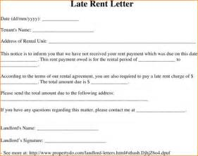 6 late rent notice academic resume template