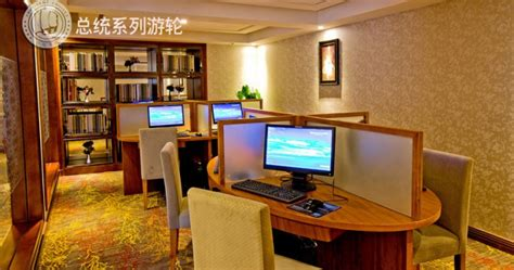 internet cafe interior design with privacy president no 8 cruise ship china luxury river cruise