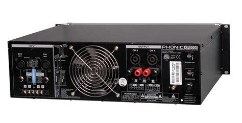 Power Lifier Ad 5000 xp 5000 5000 watt power lifier